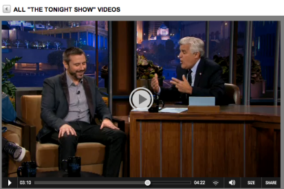 jeremy on tonight show