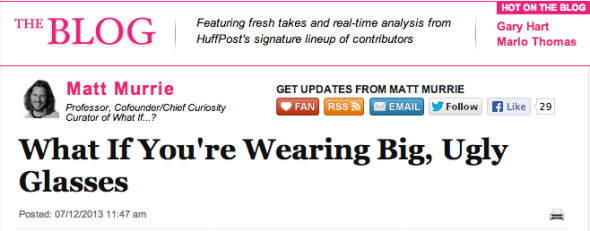 matt murrie on huffpo