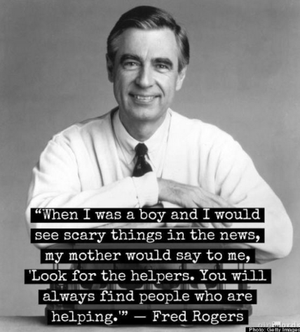 mr rogers quote for scary times