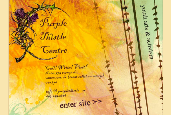 purple thistle center site