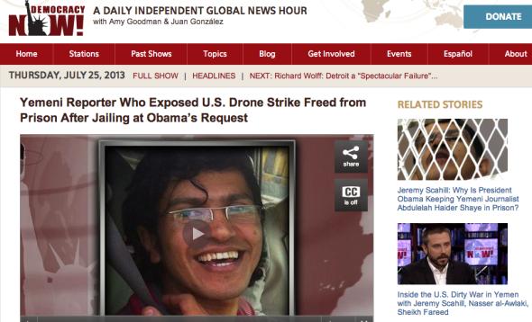 yemeni reporter released