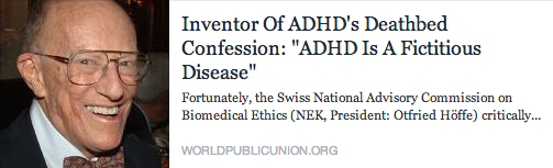 adhd fiction