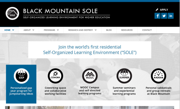 black mountain sole site