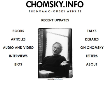 chomsky site