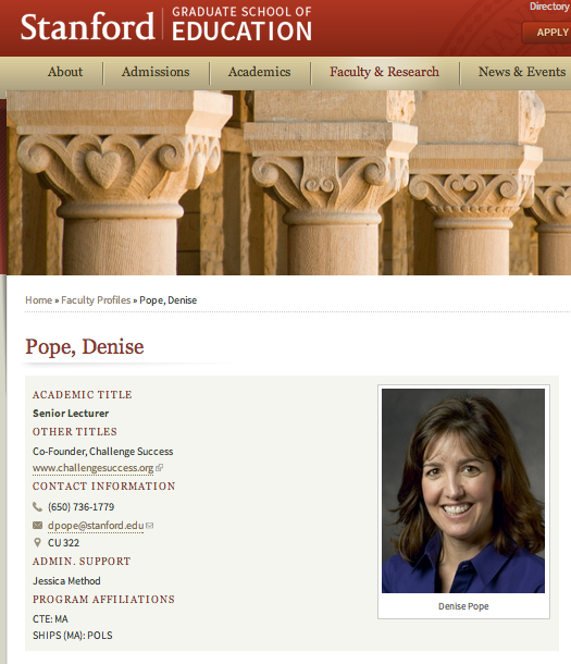 denise pope site