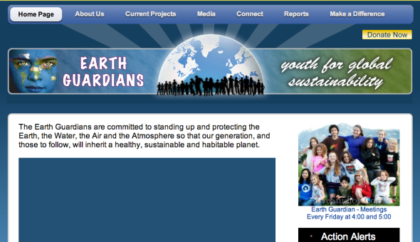 earth guardians site