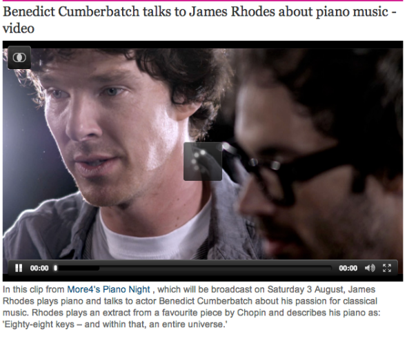 james rhodes and cumberbatch