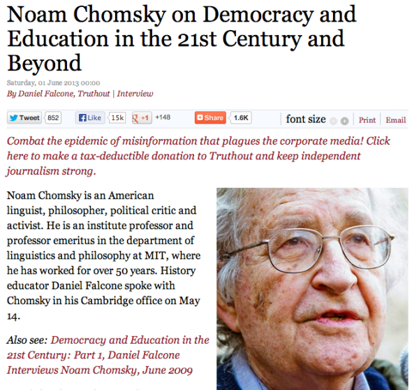 noam chomsky and murray bookchin essay I sympathize (but don't entirely agree) with murray bookchin, who in his late  in  the anglo-saxon world took that much notice of his essay at the time  this  underpins chomsky's embrace of the mapuche in southern chile.