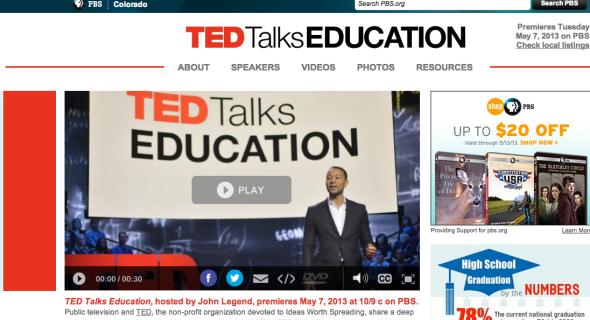 pbs ted talks education