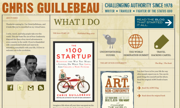 chris guillabeau site