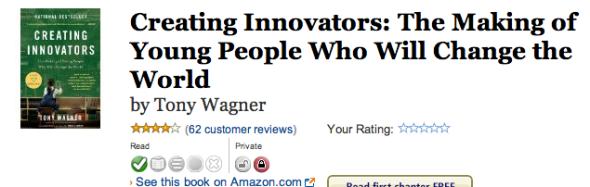 creating innovators notes