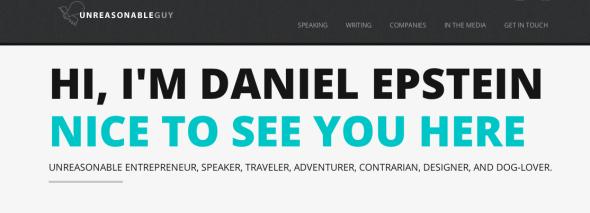 daniel epstein about me