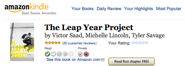 kindle for leapyear