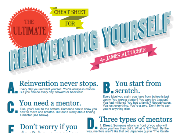 reinvent yourself poster