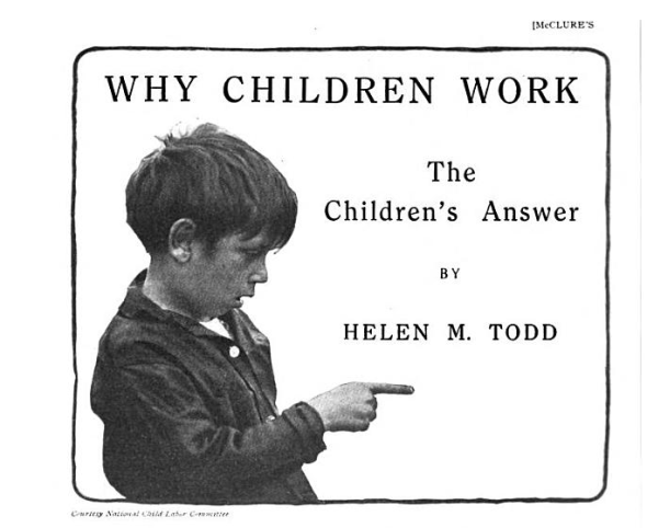 why children work, todd