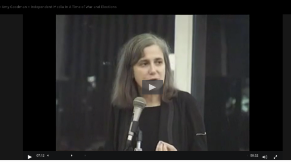 amy goodman film