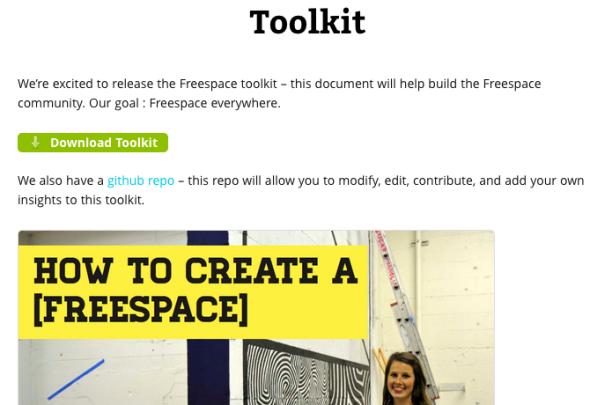 freespace took kit