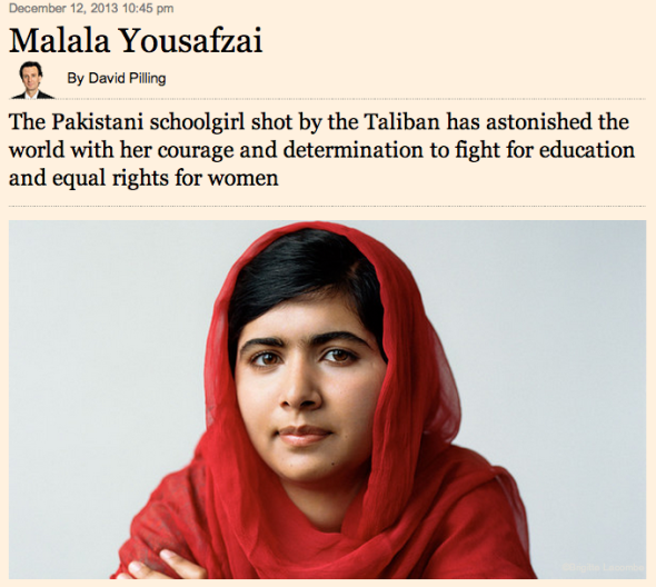 insight into malala