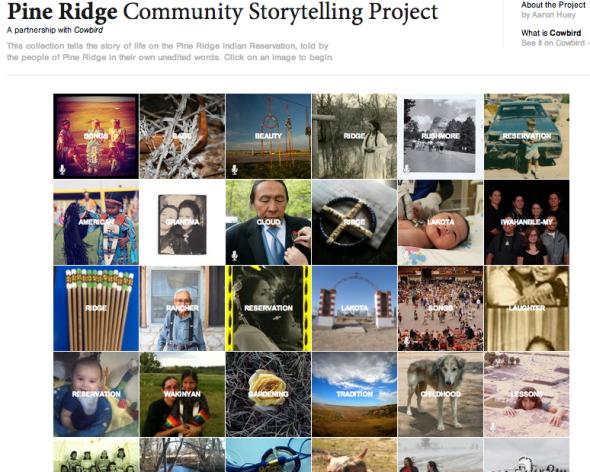 pineridge storytelling project