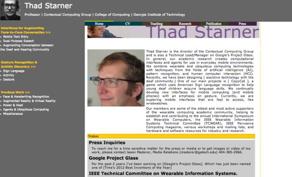 thad's site