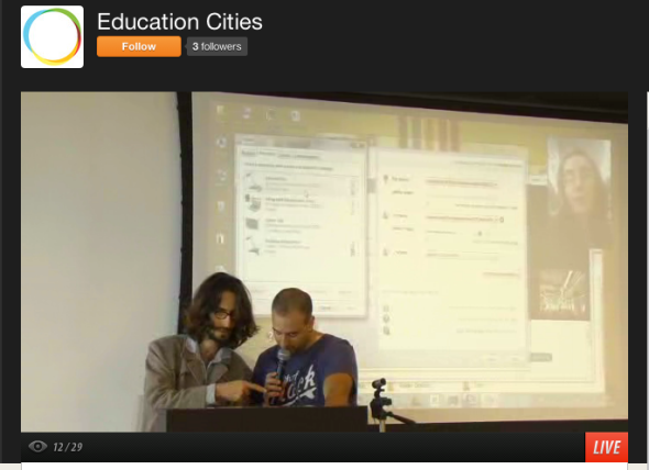 education cities livestream