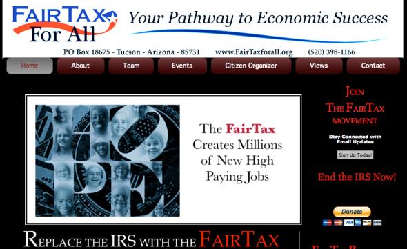 fair tax for all site
