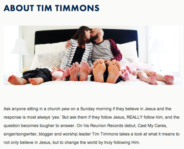 tim timmons about