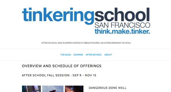 tinkeringschool sf site
