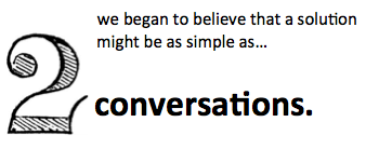 2 conversations