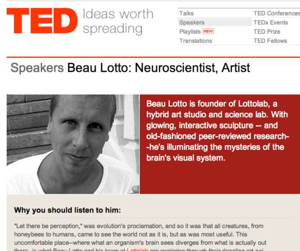beau lotto on ted
