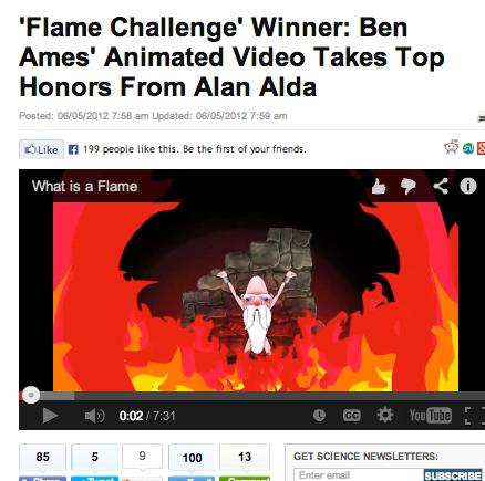 ben as flame