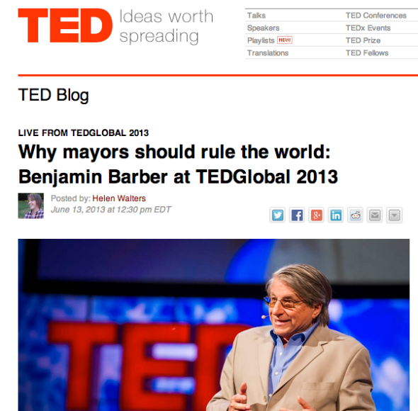 benjamin on ted blog