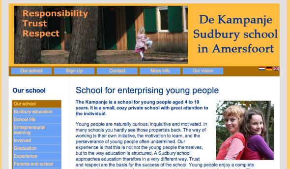de kampanje sudbury school