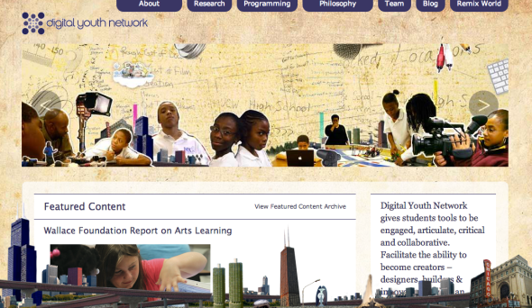 digital youth network site