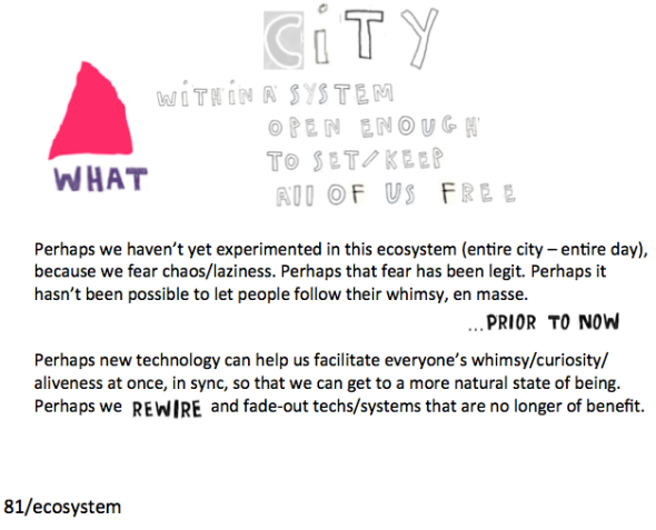 ecosystem with city