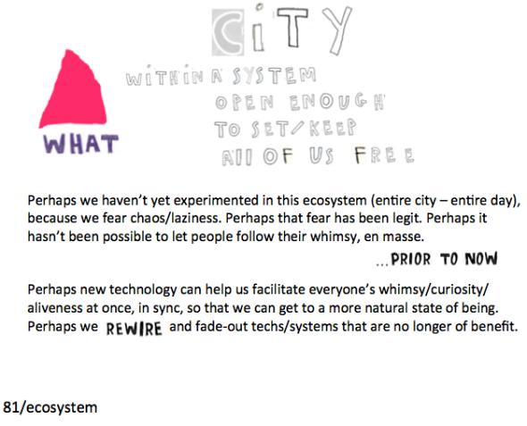 ecosystem with city