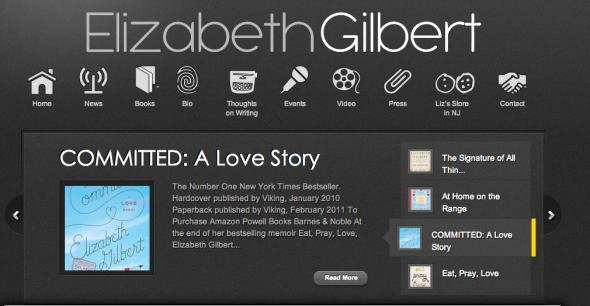 elizabeth gilbert site