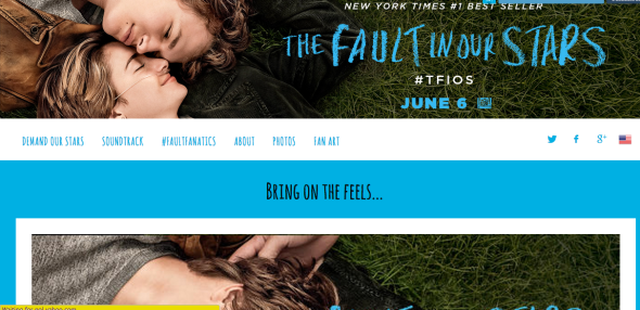 fault in our stars site