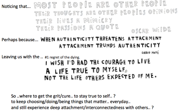 grit page about authenticity