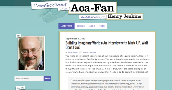 henry jenkins blog