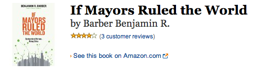 if mayors ruled the world kindle notes