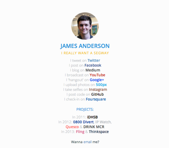 james anderson site