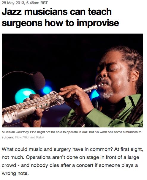 jazz and surgeons