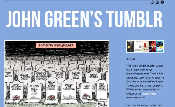 john green tumblr