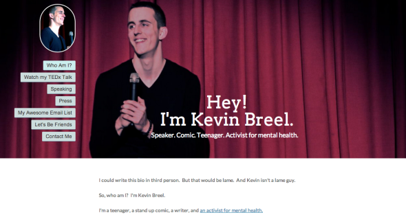 kevin breel site