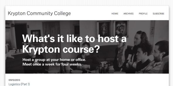 krypton community college