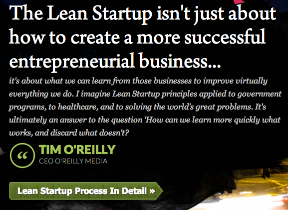 learn start up quote