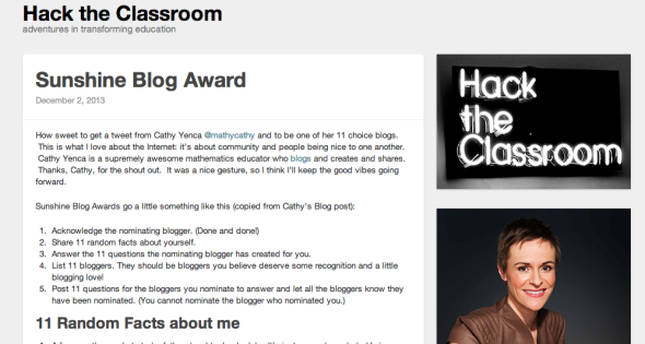 michelle cordy blog
