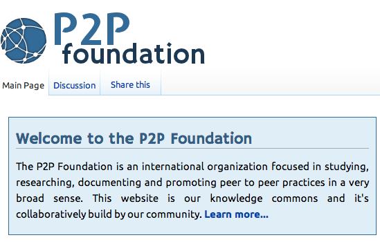 p2p foundaation site