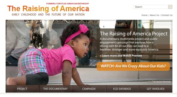 raising of america dot org